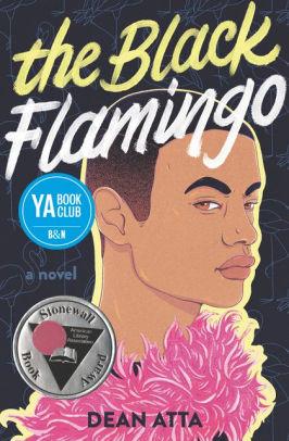 Cover for The Black Flamingo by Dean Atta