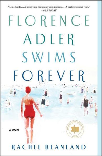 Cover for Florence Adler Swims Forever by Rachel Beanland
