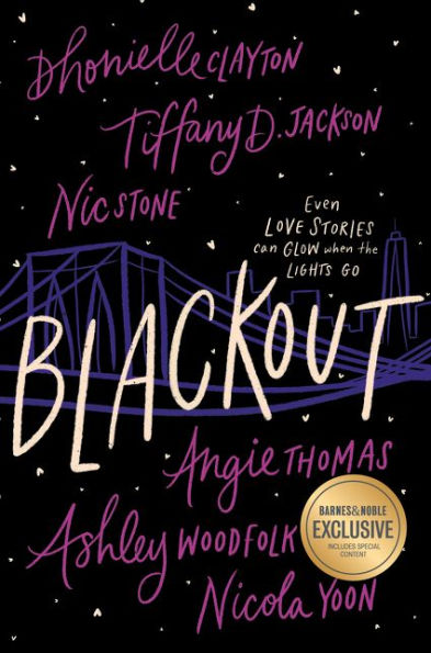 Cover for Blackout (an anthology)