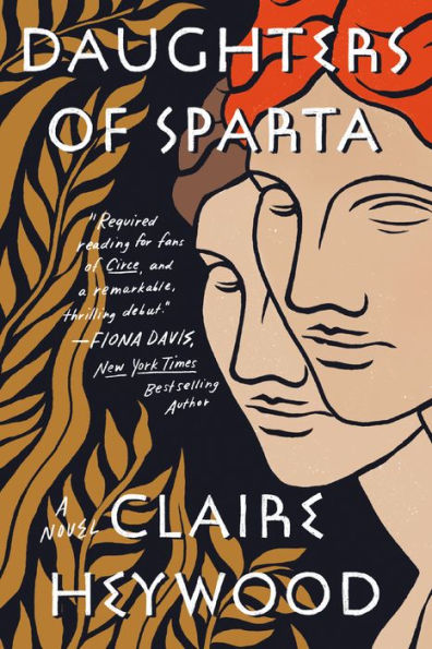 Cover for Daughters of Sparta by Claire Heywood
