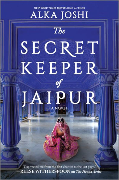 Cover for The Secret Keeper of Jaipur by Alka Joshi