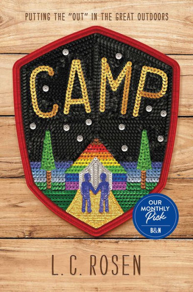 Cover for Camp by L.C. Rosen